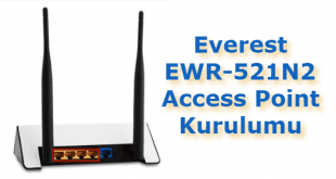 Everest EWR-521N2 Access Point Kurulumu