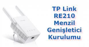 TP Link RE210 Menzil Genişletici Kurulumu