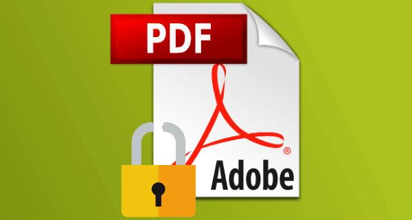 PDF Dosyasından Şifre Kaldırma Şifre Kırma