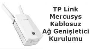 TP Link Mercusys Kablosuz Ağ Genişletici