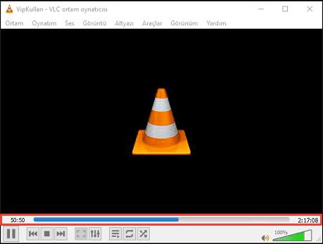 vlc player ile video dönüştürme