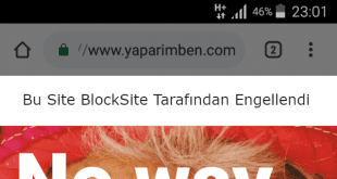 Rootsuz Android Web Sitesi Engelleme
