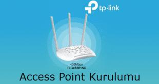 TP Link TL-WA901ND Access Point Kurulumu