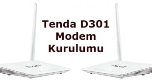 Tenda D301 v2 Modem Kurulumu
