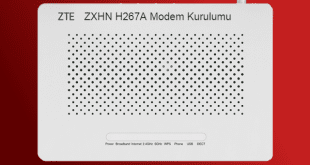ZTE ZXHN H267A Modem Kurulumu