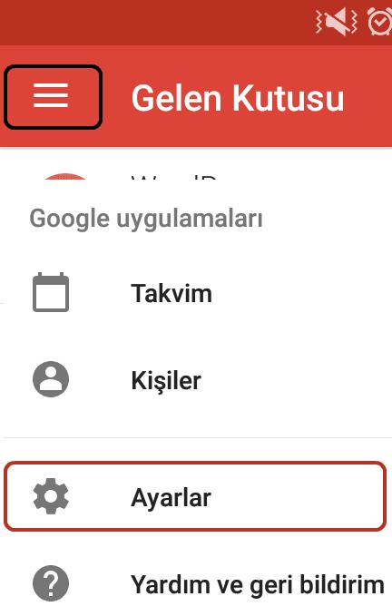 Android Gmail Bildirimlerini Özelleştirme