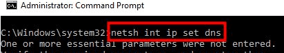ERR_CACHE_MSS Hatası