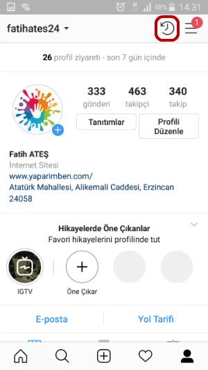 Instagram Fotoğraf Arşivleme