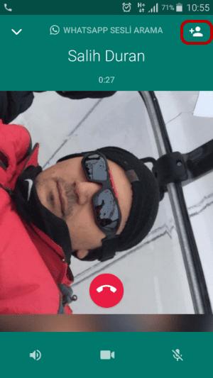 WhatsApp Gurup Konferans Araması