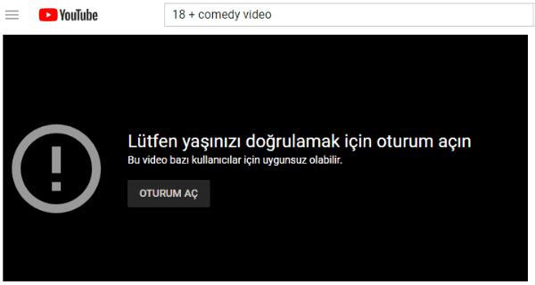 Youtube yaş sınırlamasını kaldırma nasıl yapılır
