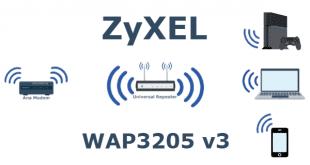 ZyXEL WAP3205 v3 Universal Repeater Kurulumu