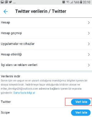 Twitter Arşiv İndirme Nasıl Yapılır