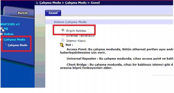ZyXEL WAP 3205 v3 Universal Repeater Kurulumu