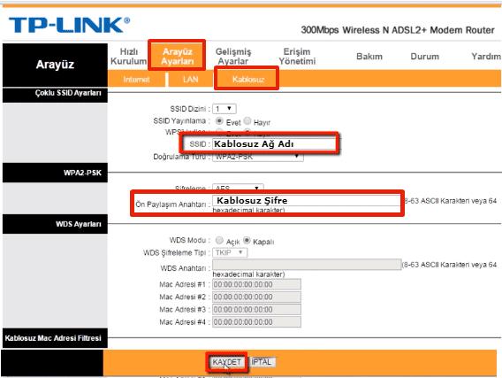 TP Link TD-W8101G Access Point Kurulumu