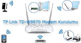 TP Link TD-W9970 Modem Kurulumu