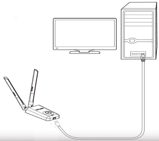 TP Link TD-WN822N USB Wi-Fi Adaptor Kurulumu