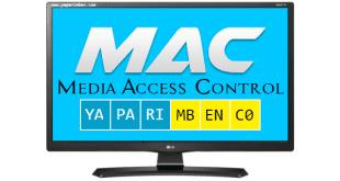 Televizyonun MAC Adresini Öğrenme