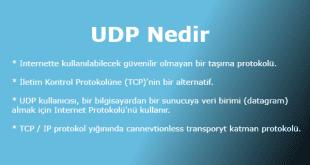 UDP Nedir (User Datagram Protocol)