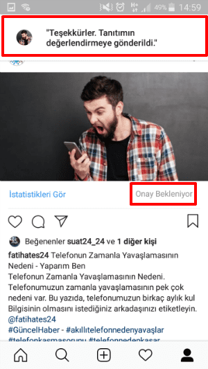 Instagram Tanıtım Yapma