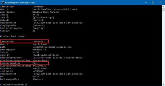 Windows 10 Otomatik Onarım Kapatma