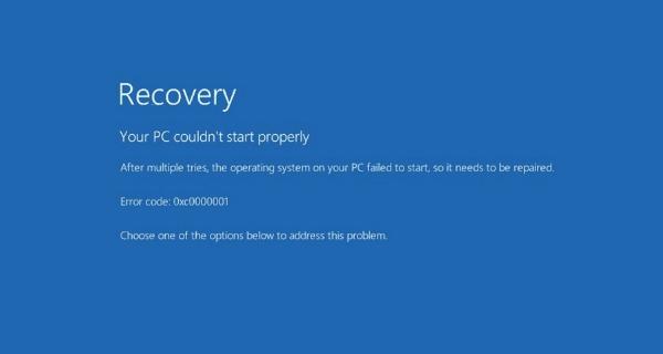 Windows 10 Otomatik Onarım Kapatma ve Etkinleştirme