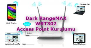 Dark RangeMAX WRT302 Access Point Kurulumu Makalesi için Hazırlanmış Görseller