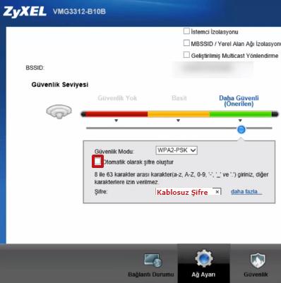 Zyxel P1302-T10D Modem Kurulumu 08