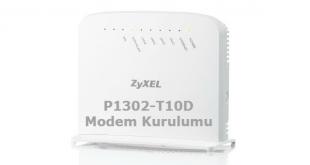 Zyxel P1302-T10D Modem Kurulumu