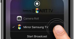 iphone'u samsung smart tv'ye bağlamak