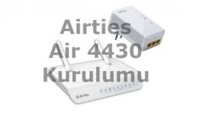 Airties Air 4430 Kurulumu makalemizde kablosuz ağ genişletici, kablosuz ağ tekrarlayıcı menzil genişletici kurulumu anlatılacak.