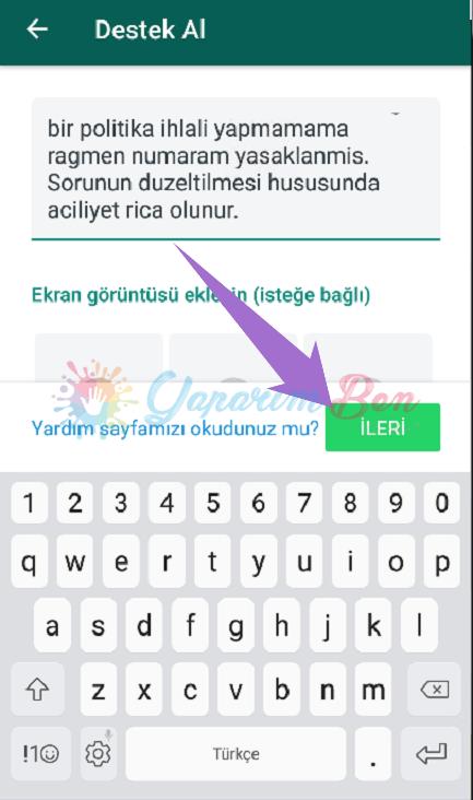 WhatsApp Kullanımı Yasaklandı Sorun Çözümü