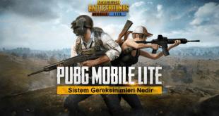 Bir şekilde Pubg Lite oynayanlarınız vardır. Peki popüler oyunlardan biri olan PUBG Lite Sistem Gereksinimleri nedir biliyor muyuz.