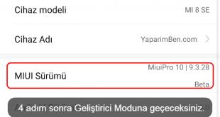 Bildiğiniz üzere Xiaomi, MIUI arayüzünü kullanıyor. Bu nedenle Xiaomi Geliştirici Seçenekleri Açma diğer markalardan biraz farklı.