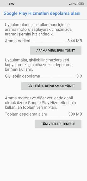 Google Play Hizmetleri Aşırı Pil Tüketimi