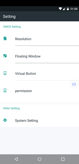 Android'de Sanal Makine Ayarları