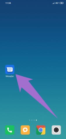 Bilgisayardan Mesaj Gönderme için Google Mesajlar Uygulaması