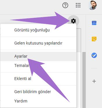 Gmail Hesap Yönlendirme