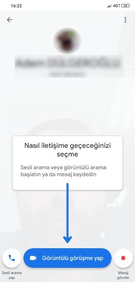 Google Duo Görüntülü Arama Nasıl Yapılır