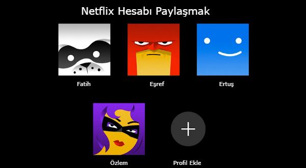 Netflix Hesabı Paylaşmak Tarih Olabilir