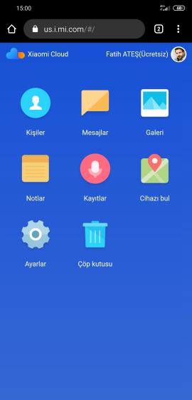Xiaomi Kayıp Telefon Bulma Adımları