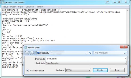 Kayıt Defteri Kullanarak Windows 10 Ürün Anahtarını Bulma
