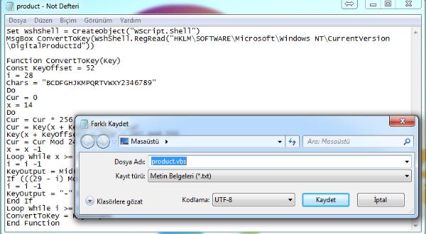 Windows 10 Ürün Anahtarını Bulmanın 3 Farklı ve Programsız Yolu