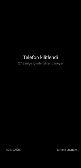 Xiaomi Kilit Ekranı Şifresini Unuttuğunuzda Ne Yapmalıyım